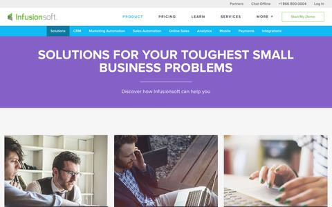 Solutions to Scale Small Business Faster | Infusionsoft