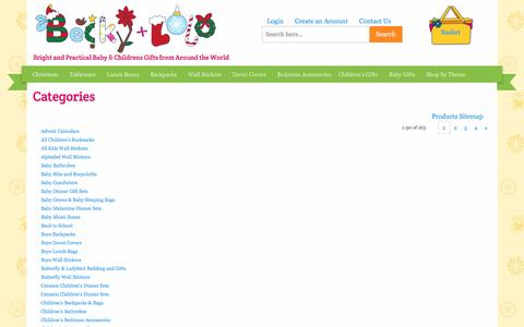 Screenshot of Site Map Page beckyandlolo.co.uk - Site Map | Becky & Lolo - captured Dec. 31, 2015