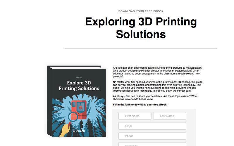 Free eBook -After the Basics: A 3D Printing Handbook