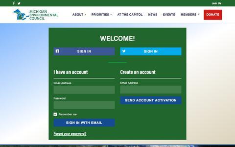 Screenshot of Login Page nationbuilder.com - Sign in - captured July 4, 2018