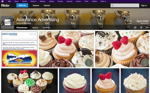 Screenshot of Flickr Page flickr.com - Flickr: Assurance Advertising's Photostream - captured Oct. 23, 2014