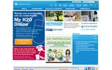 New Screenshot American Water Home Page