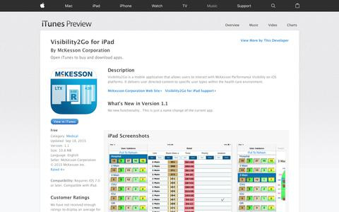 Visibility2Go for iPad on the App Store