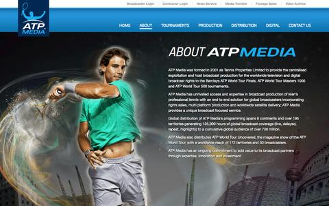 Screenshot of About Page atpmedia.tv - About | ATP Media - captured Sept. 30, 2014
