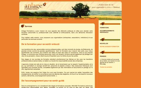 Screenshot of Services Page anlage.fr - Services - Anlage - captured Feb. 4, 2016