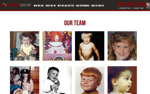 Screenshot of Team Page thepremiergroupus.com - Team   The Premier Group - captured Dec. 29, 2015