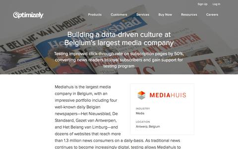 Mediahuis establishes a data-driven culture