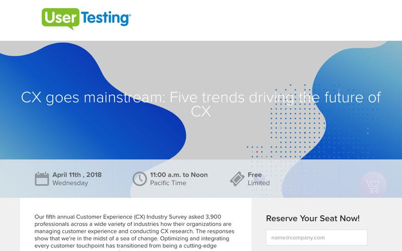 CX goes mainstream: Five trends driving the future of CX