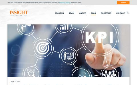 Screenshot of Blog insightpartners.com - Blog | Insight Partners - captured Aug. 31, 2019