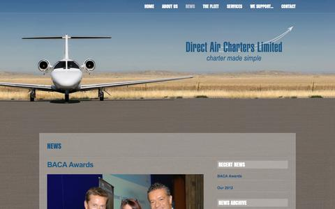 Screenshot of Press Page chartermadesimple.com - News - Direct Air Charter, Charter Broker UK, Private Jet Hire Rental - captured Oct. 5, 2014