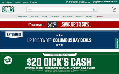 DICK'S Sporting Goods - Official Site - Every Season Starts at DICK'S