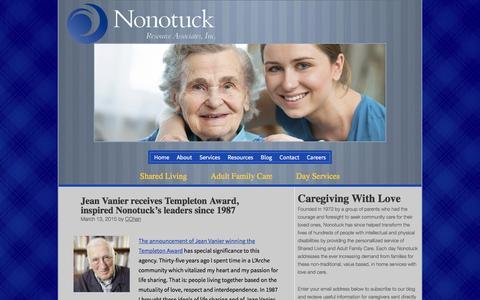 Screenshot of Press Page nonotuck.com - News - Nonotuck - captured Feb. 22, 2016