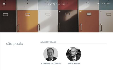 Screenshot of Team Page weplace.com.br - Consultores - Weplace - captured Nov. 18, 2018