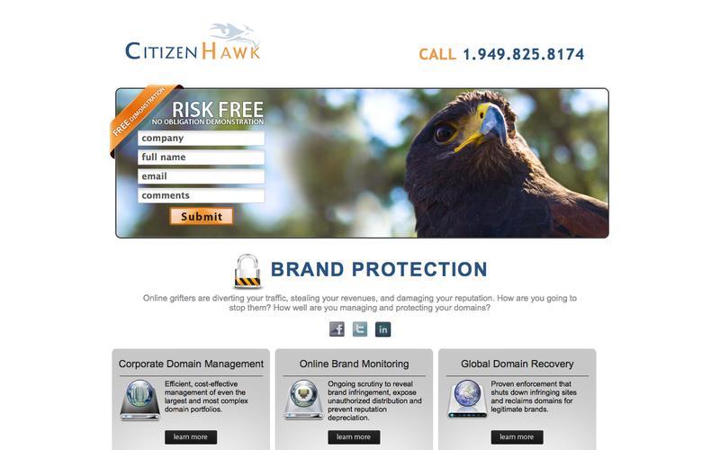 Brand Protection, Cybersquatters - CitizenHawk in Aliso Viejo CA