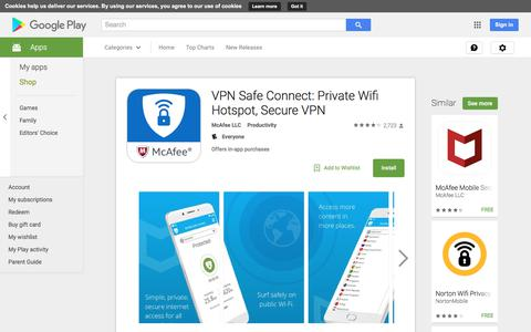 VPN Safe Connect: Private Wifi Hotspot, Secure VPN - Android Apps on Google Play