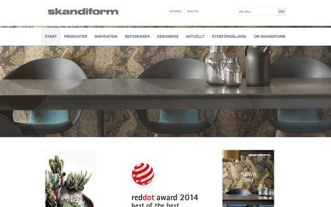 Screenshot of Home Page skandiform.se - Start | Skandiform.se - captured Sept. 30, 2014