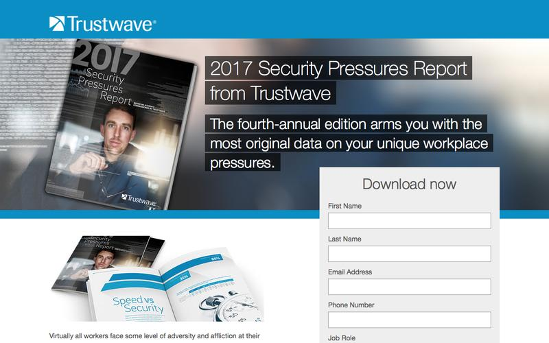 2017 Security Pressures Report