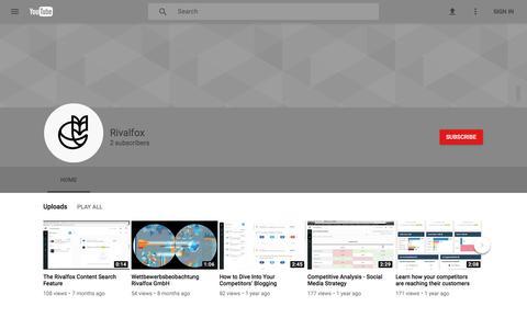 Rivalfox - YouTube