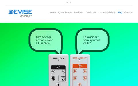 Screenshot of Blog devisetecnologia.com.br - Blog - Devise Tecnologia - captured Aug. 6, 2018