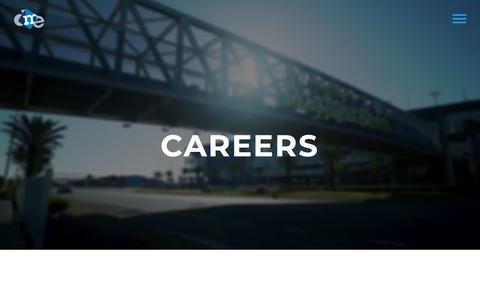 Screenshot of Jobs Page dmedelivers.com - Careers | DME Delivers - captured May 24, 2019