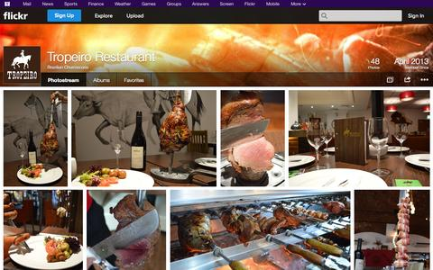 Screenshot of Flickr Page flickr.com - Flickr: Brazilian Churrascaria's Photostream - captured Oct. 25, 2014