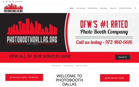 Photo Booth Rentals Dallas - Voted #1 Photo Booths In Dallas TX