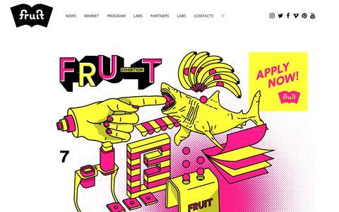 Screenshot of fruitexhibition.com - Fruit Exhibition | 1,2,3 February 2019 Palazzo Isolani Bologna - captured Oct. 23, 2018