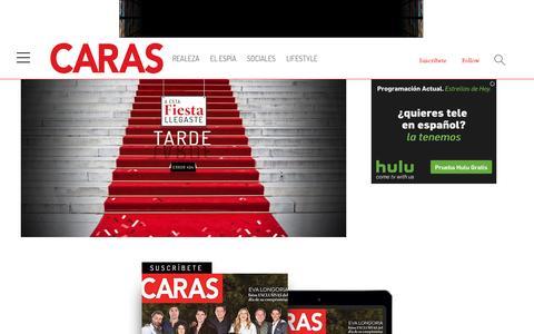 Screenshot of Press Page caras.com.mx - error - captured Jan. 17, 2016