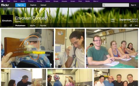 Screenshot of Flickr Page flickr.com - Flickr: envolven's Photostream - captured Oct. 22, 2014