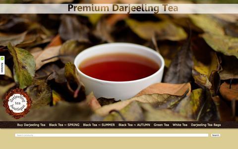 Screenshot of FAQ Page darjeelingteaboutique.com - FAQs of Darjeeling Tea Boutique - captured Jan. 7, 2016