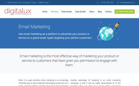 Email Marketing | Digitalux