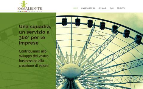 Screenshot of Home Page ilkamaleonte.com - Ilkamaleonte - captured Nov. 27, 2016