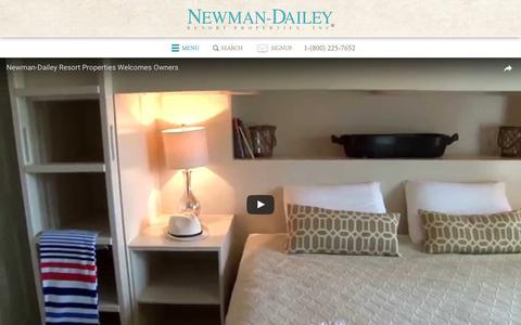 Screenshot of Team Page destinvacation.com - Destin Rental Management from Newman-Dailey - captured June 30, 2017