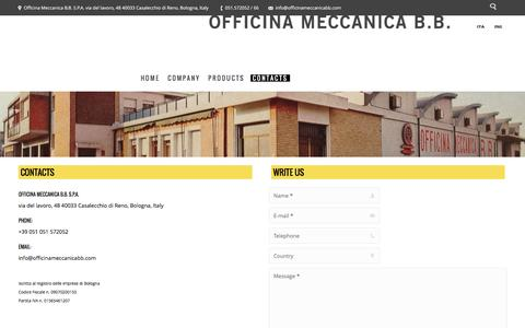 Screenshot of Maps & Directions Page officinameccanicabb.com - Officina Meccanica B.B. |   Contacts - captured June 1, 2016