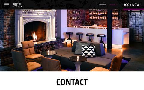 Screenshot of Contact Page viceroyhotelsandresorts.com - Contact Us | Hotel Zeppelin San Francisco - captured May 2, 2019