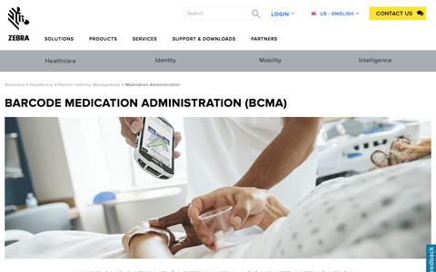 Barcode Medication Administration (BCMA) Solutions | Zebra
