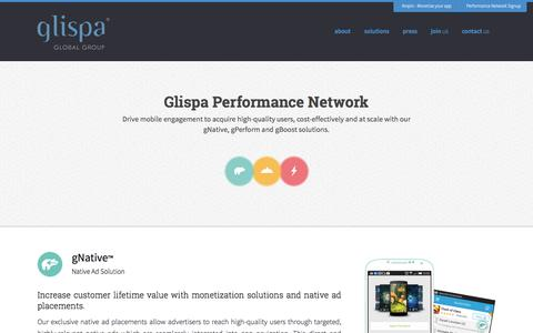 Solutions - glispa is a global mobile ad tech company that guarantees results glispa is a global mobile ad tech company that guarantees results