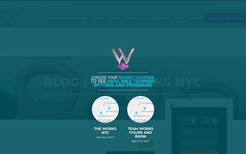 Screenshot of Blog theworksstudio.nyc - Blog | The Works NYC - captured Nov. 2, 2018