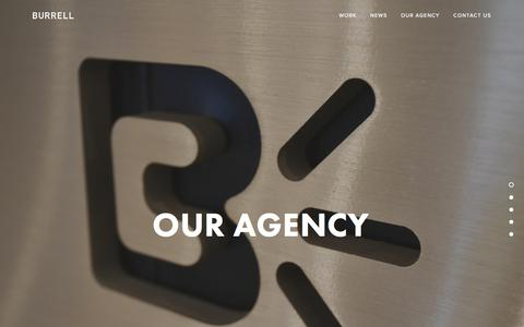 Screenshot of Team Page burrell.com - Burrell Communications — Our Agency - captured March 5, 2018