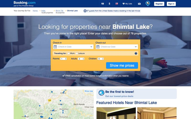 78 Hotels near Bhimtal Lake, Bhīm Tāl, India. Book your hotel now! - Booking.com