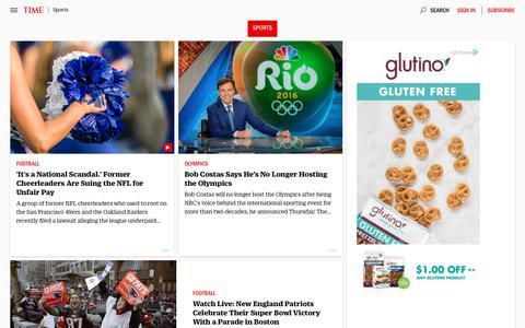 Sports | Time.com