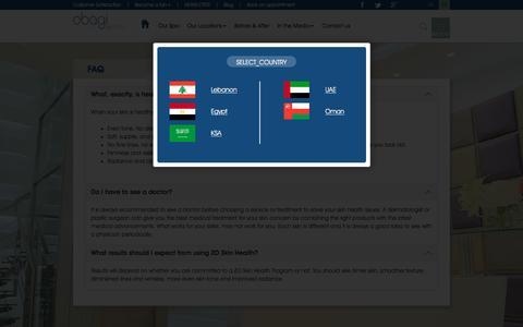 Screenshot of FAQ Page obagimedispa.com - Obagi MediSpa - Faq - captured Aug. 11, 2016
