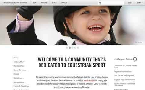 The United States Equestrian Federation