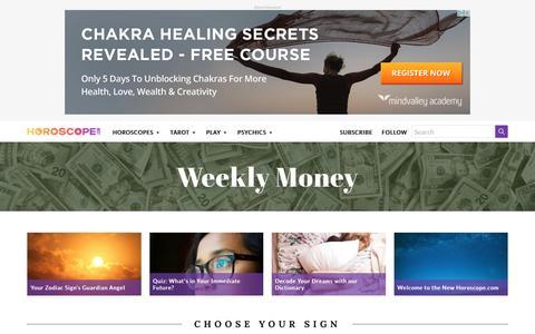 Money Horoscopes | Horoscope.com