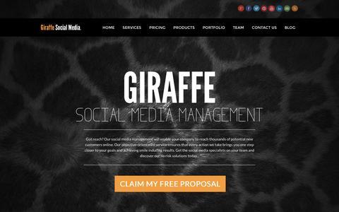Giraffe Social Media - Social Media Management