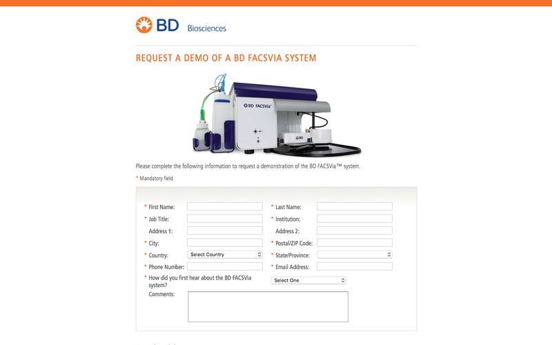 BD FACSMelody - Demo Request
