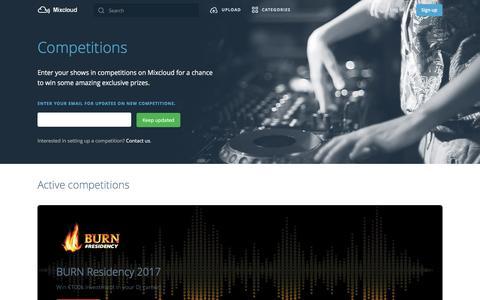 Mixcloud Competitions | Mixcloud