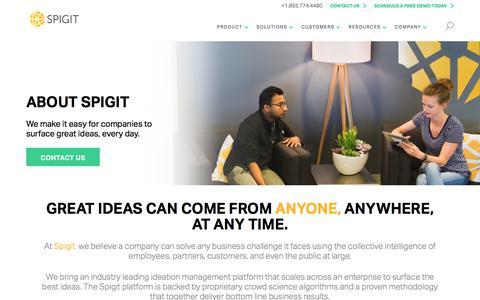 About Spigit Innovation Management Software