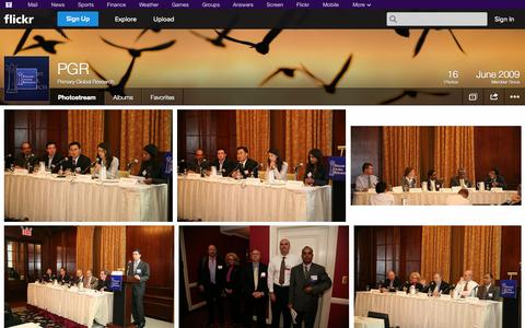 Screenshot of Flickr Page flickr.com - Flickr: Primary Global Research's Photostream - captured Oct. 22, 2014