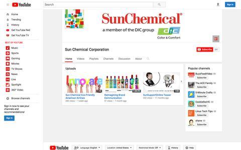 Sun Chemical Corporation  - YouTube
